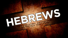 Hebrews, week 1