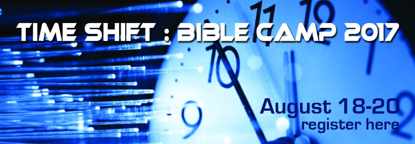 Bible Camp registration