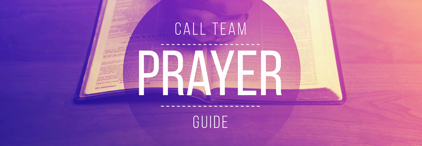 Call Team Prayer Guilde
